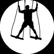 high ropes - bg circle